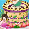 Mermaid bella torta gioco