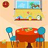 Cucina sudicia gioco