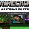 Puzzle scorrevole di Minecraft gioco