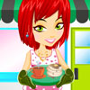 Modern Food Serving Dress up gioco