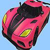 Most speed car coloring gioco