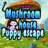 Casa fungo cucciolo fuga gioco