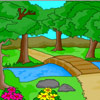Nature Scenery Coloring gioco