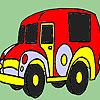 Colorazione vecchia auto di tempo gioco