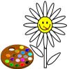 Dipingere mi fiore gioco