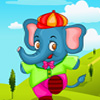 Animali elefante vestire gioco