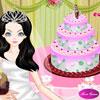 Decorazione torta di nozze perfetta gioco
