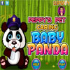 Peppys Pet cura - Baby Panda gioco