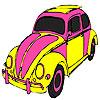 Tartaruga auto colorazione rosa gioco