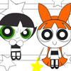 PowerPuff ragazze Disegni da colorare gioco
