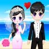 Sposa graziosa pochino di più gioco