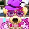 Stilista di cucciolo gioco