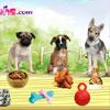 Tempo del pasto di cuccioli gioco