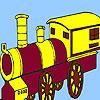 Rattletrap ferroviaria da colorare gioco