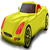 Red seater car coloring gioco