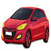 Red Hyundai auto colorazione gioco