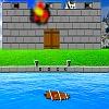 Castello di nave a vela attacco gioco