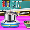 Spaghetti all'aragosta sarda gioco