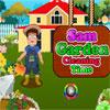 Tempo di pulizia di Sam Garden gioco