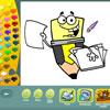 Pagine da colorare scuola gioco