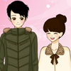 Coppia di San Valentino di Shoujo Manga dress up gioco