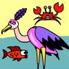 Pesca di cicogna gioco