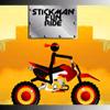 Stickman divertente cavalcata gioco