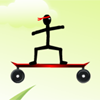 Stickman Skateboard-Bike Challenge gioco
