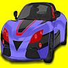 Colorazione di auto super-challenger gioco