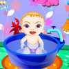 Sweet Baby Bathing gioco