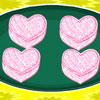 Biscotti di zucchero a cuore gioco