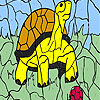 Turtle and ball coloring gioco