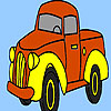 Village truck coloring gioco