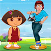Zoe con Dora Dress Up gioco